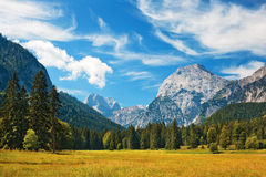 Alps landscape Royalty Free Stock Image