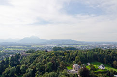 Alps landscape Royalty Free Stock Images