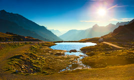 Alps landscape Royalty Free Stock Photography