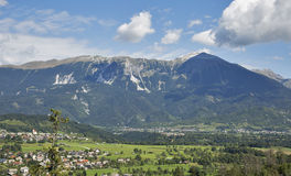 Alps landscape in Slovenia Royalty Free Stock Image