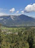 Alps landscape in Slovenia Royalty Free Stock Photos