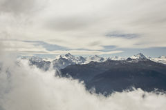 Alps landscape. Royalty Free Stock Images