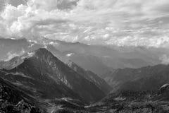 alps lasów krajobrazowy gór widok Obraz Royalty Free