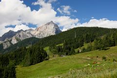 Alps - Maria Alm Royalty Free Stock Photos