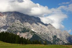 Alps - Maria Alm Royalty Free Stock Photo
