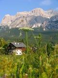 alps mieścą Italy Obraz Royalty Free