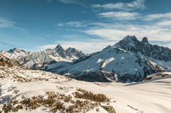 Alps mointain in France Royalty Free Stock Images