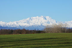 Alps monte rosa 2 Royalty Free Stock Images