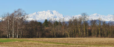 Alps monte rosa 3 Royalty Free Stock Photography