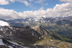 Alps mountain in austria in sommer Stock Image