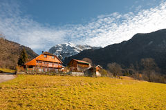 Alps Mountain Chalet H Stock Photography