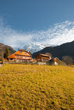 Alps Mountain Chalet V Stock Images