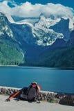 Alps mountain landscape Royalty Free Stock Photo
