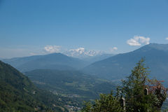 Alps mountain landscape Stock Image