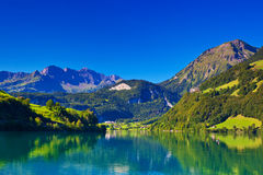 Alps mountain landscape Royalty Free Stock Photos