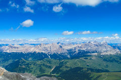 Alps mountain landscape in summer Royalty Free Stock Images