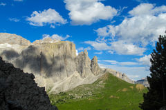 Alps mountain landscape in summer Royalty Free Stock Image
