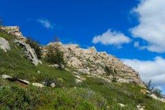 Alps mountain landscape in summer Stock Photos