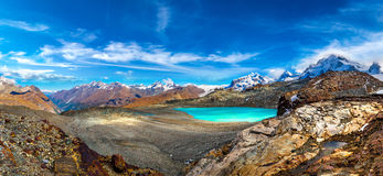 Alps mountain landscape in Swiss Stock Images