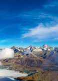 Alps mountain landscape in Switzerland Stock Photo