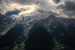 Alps mountain landscape Royalty Free Stock Images