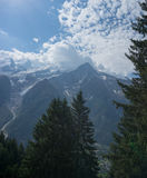 Alps mountain landscape Royalty Free Stock Image