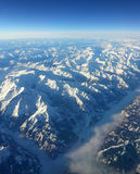 Alps mountain range Stock Images