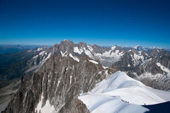 Alps mountain in summer Stock Image