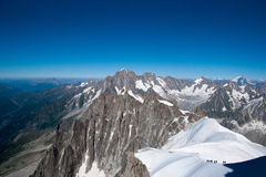 Alps mountain in summer Stock Photography