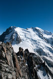 Alps mountain in summer Royalty Free Stock Photos