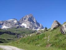 Alps mountains Stock Image