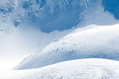 The Alps Mountains Stock Image