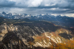 Alps mountains. In northern Slovenia Stock Images