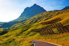 Alps mountains Stock Photos