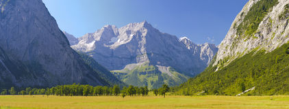 Alps mountains in Bavaria Royalty Free Stock Image