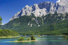 Alps mountains in Bavaria Stock Images