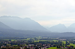 Alps mountains Royalty Free Stock Photos