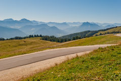 Alps Mountains landscape Royalty Free Stock Image