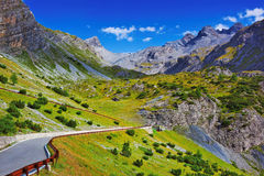 Alps landscape Royalty Free Stock Photo