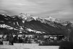 Alps mountains Stock Photo