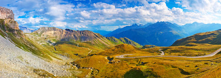 Alps panorama Royalty Free Stock Photos