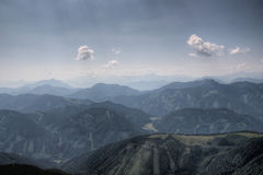 Alps mountains range Royalty Free Stock Images