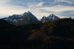 The Alps Mountains Royalty Free Stock Image