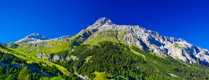 Alps mountains Stock Photography