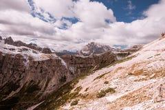 Alps mountains view Royalty Free Stock Photo