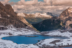 Alps mountains view Royalty Free Stock Photography