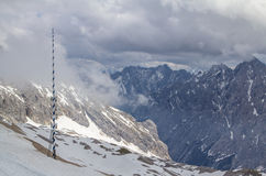 Alps mountains, Zugspitze Stock Photos