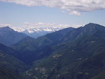 The Alps, near Locarno Switzerland Royalty Free Stock Photos
