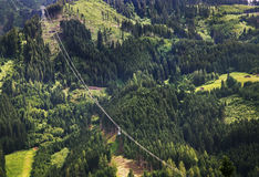 Alps near Mayrhofen. Tirol. Austria Royalty Free Stock Photo