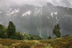 Alps near Mayrhofen. Tirol. Austria Stock Photography